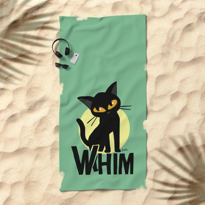 Whim! Beach Towel