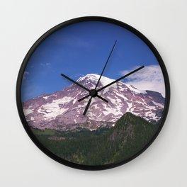 Mt Rainier, Washington Wall Clock