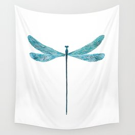 Dragonfly, watercolor Wall Tapestry