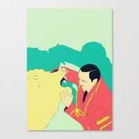 circus Canvas Prints featuring Circus by ministryofpixel