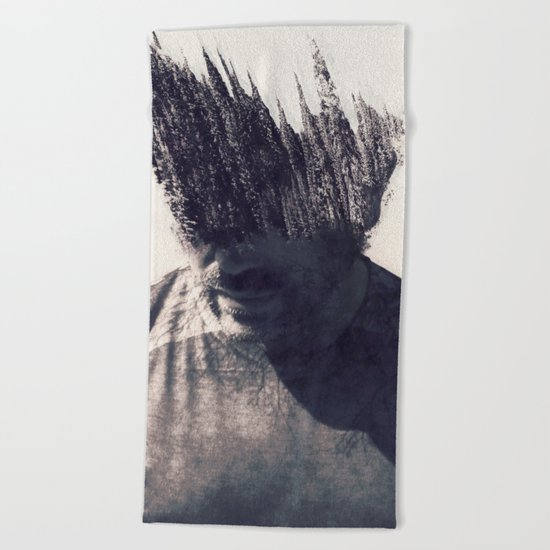 With Nature in Mind Beach Towel