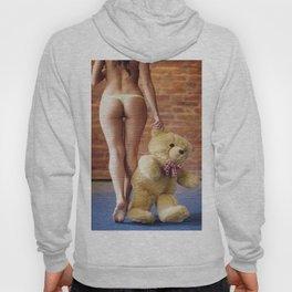 Lingerie and Teddy bear Hoody