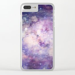 Galaxy 1 Clear iPhone Case