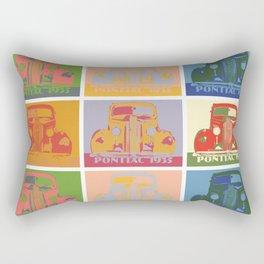 Pontiac 1935 9 times pop art style Rectangular Pillow