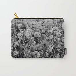 The Garden (Black and White) Carry-All Pouch