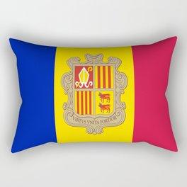 Andorra flag Rectangular Pillow
