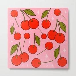 Cherries on Top Metal Print