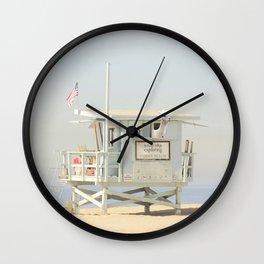 ALPACA -  VENICE BEACH No. 23 Wall Clock