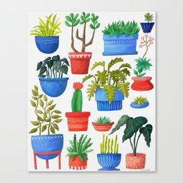 House Plants Canvas Print