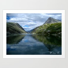 Rondane - Rondevannet  Norway Art Print