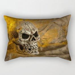 Skull And Sackcloth Rectangular Pillow