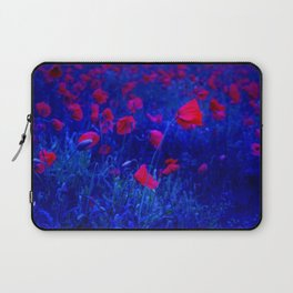 Red in Blue Laptop Sleeve