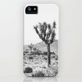 Joshua Tree Monochrome, No. 1 iPhone Case