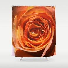 Vavoom Rose Shower Curtain