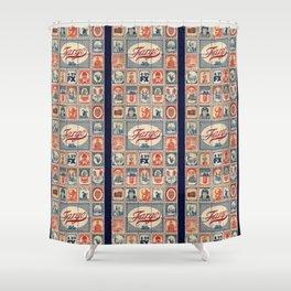 Far Out Fargo Shower Curtain