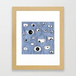 We see you Framed Art Print