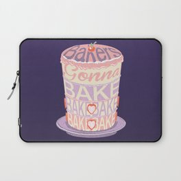 Bakers Gonna Bake Laptop Sleeve