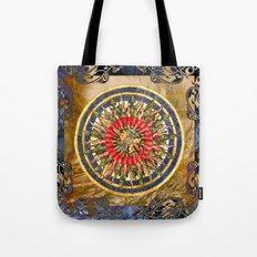 Sea Dragon Compass Rose Tote Bag