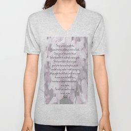 Through years and passing tides Unisex V-Neck