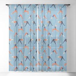 Yoga Flow Sheer Curtain