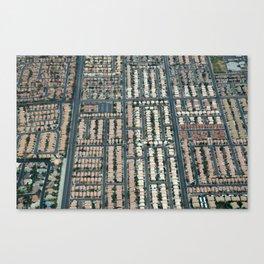 ARCH ABSTRACT 17: Urban sprawl #1, Las Vegas Canvas Print
