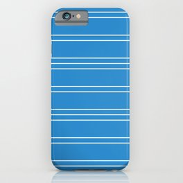 Simple Lines Pattern wb iPhone Case