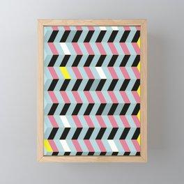 ESCALATOR Framed Mini Art Print