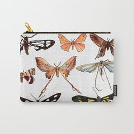 Set of butterflies watercolor Carry-All Pouch
