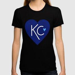 KC Love Navy & Blue T-shirt