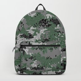 Computer Circuit Camo URBAN GAMER Backpack