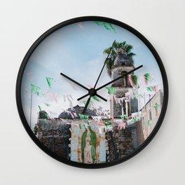 la virgen de guadalupe, san juan cosala Wall Clock