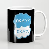tfios Mugs featuring TFIOS Dots by All Things M