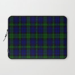 "CAMPBELL CLAN  ""BLACK WATCH"" SCOTTISH  TARTAN DESIGN Laptop Sleeve"