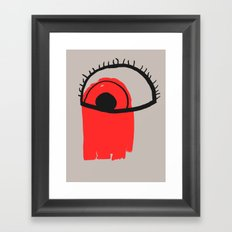 Some you can't wash off Framed Art Print
