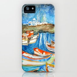 Night Sea Istanbul iPhone Case