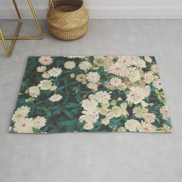 Lace Flowers Rug
