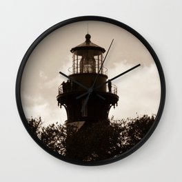 St. Augustine Lighthouse Wall Clock