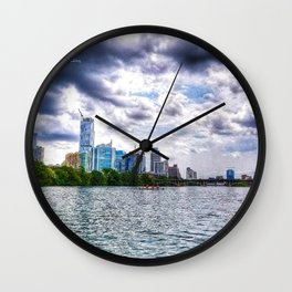 Lake Austin Wall Clock