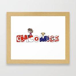Evacomics Framed Art Print