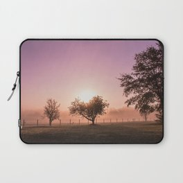 Sunrise in the Country Laptop Sleeve