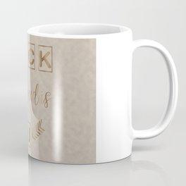 All I need is U Funny Typography Coffee Mug