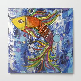 Colorful fish 1 Metal Print