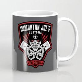 Immortan Joe's Customs Coffee Mug