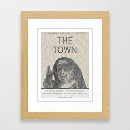 The Masked One Framed Art Print