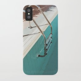 Swimming Pool IV iPhone Case