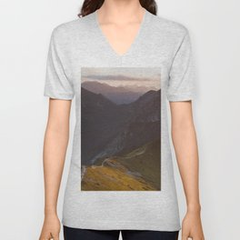 Before sunset - Landscape and Nature Photography Unisex V-Neck