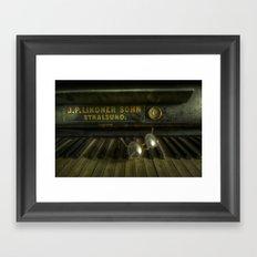 AN eye for music Framed Art Print