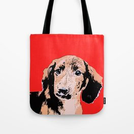 """""""Twist and Shout"""" ~ Dachshund, Weiner Dog, Doxie, everywhere!   Tote Bag"""
