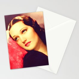 Dorothy Lamour, Vintage Actress Stationery Cards