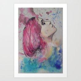 OLSEN Art Print